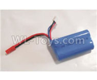 HBX Rampage Battery-7.4V 650MAH Battery(1pcs) Parts,HaiBoXing Rampage 18859E RC Car Spare Parts 1/18