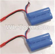 HBX Rampage 18859E Battery7.4V 650MAH Battery(2pcs) Parts
