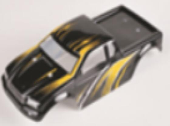 HBX Rampage 18859E Body shell,RC Car shell-Green PartsB002,HaiBoXing Rampage 18859E RC Car Spare Parts 1/18