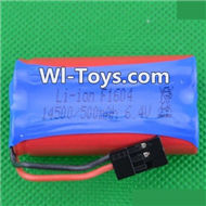 HBX Devastator Battery Parts-Official 6.4V 500MAH Battery(1pcs)-24971,HaiBoXing HBX 2098B Devastator 1/24th RC Car Parts