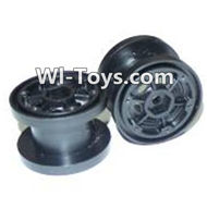 HaiBoxing HBX 2098B Devastator Parts-wheel hub Parts-wheel hub(2pcs)-Not include the Tire lether-24805,HaiBoXing HBX 2098B Devastator 1/24th RC Car Parts
