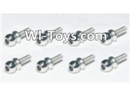 HBX Devastator Parts-Steering Ball Stud.(φ3.8mm)-8pcs-24728,HaiBoXing HBX 2098B Devastator 1/24th RC Car Parts