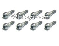 HBX Devastator Parts-Steering Ball Stud.(φ3.8x7.6mm)-8pcs-24005,HaiBoXing HBX 2098B Devastator 1/24th RC Car Parts
