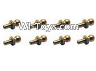 HBX Devastator Parts-Steering Ball Stud.(φ 3.89.9mm)-8pcs-H013,HaiBoXing HBX 2098B Devastator 1/24th RC Car Parts