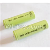 HBX 2118 Battery Li-ion Battery,3.7v, 800mAH Battery(2pcs) 25025,HaiBoxing HBX 2118 Defensor RC Car Parts 1/24