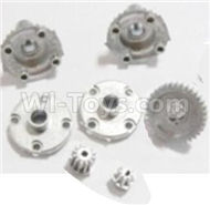 HBX 2138 Fire Runner Parts-Metal Diff. Gears & MetalDrive Pinion Gears Parts-25005R,HaiBoXing HBX 2138 RC Car Parts 1/24