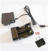 HBX 2138 Fire Runner Parts-Charger Parts-Charge Box and Charger(USA Standard Socket) Parts-25027,HaiBoXing HBX 2138 RC Car Parts 1/24