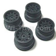 HBX 2138 Fire Runner Parts-Wheel Hub Parts-Wheel Hub(4pcs)-Not include the tire lether Parts-24029,HaiBoXing HBX 2138 RC Car Parts 1/24