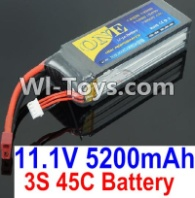 HBX T6 Battery Parts-ONE 3s 11.1V 45C 5200MAH Battery Parts TS008,HaiBoXing HBX T6 1/6 RC Desert Buggy Parts,hbx T6 Hammerhead Parts