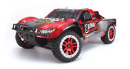 HuanQi 727 rc car,1/10 BRUSHED Off-road short-distance truck,HQ727,HQ 727 Truck,HuanQi 727 High speed 1:10 Full-scale rc racing car,2.4G 4WD Off-road Rock Crawler RC Car-Red HuanQi-Car-All