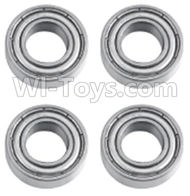 HuanQi 727 Parts-86-04 B5504 Rolling bearings(4pcs)-8x16x5mm,HuanQi 727 Rc Car Spare Parts Replacement Accessories,HQ727 HQ 727 1:10 Scale BRUSHED RC Racing Truck Parts rc off-road car Parts,Truck Car Parts