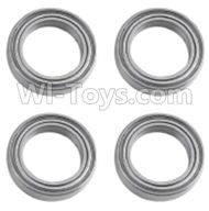 HuanQi 727 Parts-86-06 B55O6 Rolling bearings(4pcs)-12x18x4mm,HuanQi 727 Rc Car Spare Parts Replacement Accessories,HQ727 HQ 727 1:10 Scale BRUSHED RC Racing Truck Parts rc off-road car Parts,Truck Car Parts
