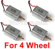 JJRC Q60 4 Wheel Drive Motor Parts(4pcs)-Can only be used For 4 Wheel car,JJRC Q60 Parts,JJRC Q60 Upgrade parts