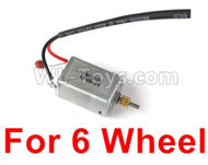 JJRC Q60 6 Wheel Drive Motor(1pcs)-Can only be used For 6 Wheel car,JJRC Q60 Parts,JJRC Q60 Upgrade parts