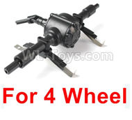 JJRC Q60 Rear drive assembly Parts-Can Only be used for 4 wheels Wheel Car,JJRC Q60 Parts,JJRC Q60 Upgrade parts