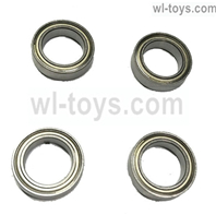 JLB Cheetah Bearings(10X15X4MM)-4pcs Parts-BE001,JLB Cheetah Parts,JLB cheetah 1/10 21101 RC Car Parts,JLB Racing Cheetah parts,JLB Racing 21101 parts