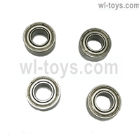 JLB Cheetah Bearings(5X10X4MM)-4pcs Parts-BE002,JLB Cheetah Parts,JLB cheetah 1/10 21101 RC Car Parts,JLB Racing Cheetah parts,JLB Racing 21101 parts