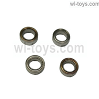 JLB Cheetah Bearings(8X5X2.5MM) -4pcs Parts-BE003,JLB Cheetah Parts,JLB cheetah 1/10 21101 RC Car Parts,JLB Racing Cheetah parts,JLB Racing 21101 parts