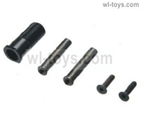 JLB Cheetah Metal rotary screw steering column Parts-EA1008,JLB Cheetah Parts,JLB cheetah 1/10 21101 RC Car Parts,JLB Racing Cheetah parts,JLB Racing 21101 parts