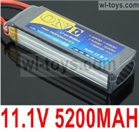 JLB Racing J3 Speed Parts-Upgrade 11.1V 5200MAH Battery(1pcs)-3S Battery,JLB J3 Speed Parts