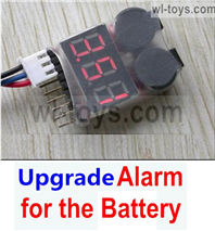 JLB Racing J3 Speed Parts-Upgrade Alarm for the Battery,Can test whether your battery has enouth power,JLB J3 Speed Parts