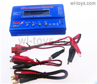JLB Racing J3 Speed Parts-Upgrade B6 Balance charger(Can charger 2S 7.4v or 3S 11.1V Battery),JLB J3 Speed Parts