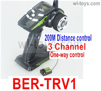JLB Racing J3 Speed Parts-0BER-TRV1 Transmitter with Receiver board(One-Way control,200m distance control),JLB J3 Speed Parts