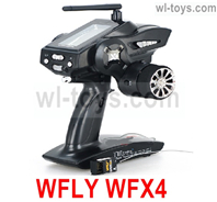 JLB Racing J3 Speed Parts-WFLY WFX4 Transmitter with Receiver board(Huge LCD Screen and other high qulity function)),JLB J3 Speed Parts