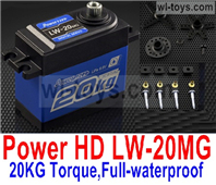 JLB Racing J3 Speed Parts-JPower HD LW-20MG,20KG Torque Servo)-Full-waterproof,JLB J3 Speed Parts