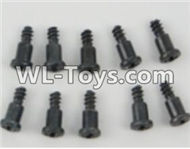 PXtoys 9301 Spare parts P88009 T-Shape screws(10pcs)-2.3x10mm,PXtoys 9301 RC Car Parts,PXtoys 9301 RC Truck Spare parts Accessories,1:18 4WD High Speed Buggy Parts