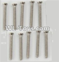 PXtoys 9302 Spare parts P88001 Round Head screws(10pcs)-2.3x15mm,PXtoys 9302 RC Car Parts,PXtoys 9302 RC Truck Spare parts Accessories,1:18 4WD High Speed Buggy Parts