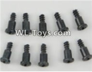 PXtoys 9302 Spare parts P88009 T-Shape screws(10pcs)-2.3x10mm,PXtoys 9302 RC Car Parts,PXtoys 9302 RC Truck Spare parts Accessories,1:18 4WD High Speed Buggy Parts