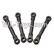 PXtoys 9302 Spare parts-04 Anti-Shock Absorber Link-4cm in Length(4pcs),PXtoys 9302 RC Car Parts,PXtoys 9302 RC Truck Spare parts Accessories,1:18 4WD High Speed Buggy Parts