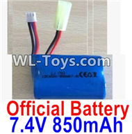 PXtoys 9302 Spare parts-31 Official 7.4V 850MAH Battery(1pcs),PXtoys 9302 RC Car Parts,PXtoys 9302 RC Truck Spare parts Accessories,1:18 4WD High Speed Buggy Parts