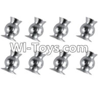 REMO HOBBY 1072 Parts-39 M5311 Ball head(8pcs)-5.75x8.2mm,REMO HOBBY 1072 Rc Car Spare Parts Replacement Accessories,1072 1:10 Scale BRUSHED ROCK CRAWLER Parts rc Climbing car Parts,Truck Car Parts