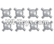 REMO HOBBY 1072 Parts-46 E5321 Cross shape Universal ball(8pcs),REMO HOBBY 1072 Rc Car Spare Parts Replacement Accessories,1072 1:10 Scale BRUSHED ROCK CRAWLER Parts rc Climbing car Parts,Truck Car Parts
