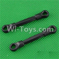 SuBotech BG1507 Car Parts-S15060602 Front Pull Rod(2pcs),Subotech BG1507 RC Car Spare parts Accessories,1:12 4WD BG1507 RC Racing Car parts,High Speed Drifting Buggy Parts