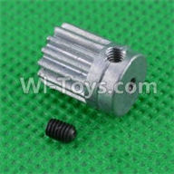 SuBotech BG1507 Car Parts-H15061304 Small Motor Gear,Subotech BG1507 RC Car Spare parts Accessories,1:12 4WD BG1507 RC Racing Car parts,High Speed Drifting Buggy Parts