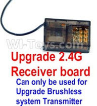 SuBotech BG1507 Car Parts-Upgrade 2.4G Receiver board(Can only be used for Upgrade Brushless set,You must buy the upgrade Transmitter together to use for Upgrade Brushless set),Subotech BG1507 RC Car Spare parts Accessories,1:12 4WD BG1507 RC