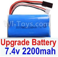 SuBotech BG1507 Car Parts-Upgrade 7.4V 2200mah 15C Battery(1pcs),Subotech BG1507 RC Car Spare parts Accessories,1:12 4WD BG1507 RC Racing Car parts,High Speed Drifting Buggy Parts