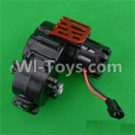 SuBotech BG1507 Car Parts-Rear Gearbox assembly,Subotech BG1507 RC Car Spare parts Accessories,1:12 4WD BG1507 RC Racing Car parts,High Speed Drifting Buggy Parts