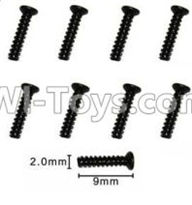 SuBotech BG1507 Car Parts-WLS003 Countersunk head screws(8pcs)-M2X9KB,Subotech BG1507 RC Car Spare parts Accessories,1:12 4WD BG1507 RC Racing Car parts,High Speed Drifting Buggy Parts