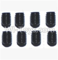 SuBotech BG1507 Car Parts-WLS017 Hexagon Socket Screws(8pcs)-3X4,Subotech BG1507 RC Car Spare parts Accessories,1:12 4WD BG1507 RC Racing Car parts,High Speed Drifting Buggy Parts