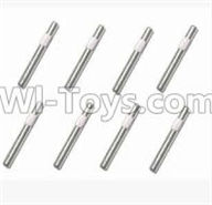 SuBotech BG1507 Car Parts-WTZ004 Knurling axis(8pcs)-4X33,Subotech BG1507 RC Car Spare parts Accessories,1:12 4WD BG1507 RC Racing Car parts,High Speed Drifting Buggy Parts