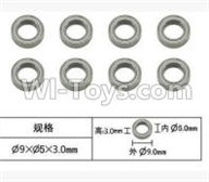 SuBotech BG1507 Car Parts-WZC002 Ball bearing(8pcs)-5X9X3MM,Subotech BG1507 RC Car Spare parts Accessories,1:12 4WD BG1507 RC Racing Car parts,High Speed Drifting Buggy Parts