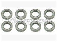 SuBotech BG1507 Car Parts-WZC004 Ball bearing(8pcs)-10X15X4MM,Subotech BG1507 RC Car Spare parts Accessories,1:12 4WD BG1507 RC Racing Car parts,High Speed Drifting Buggy Parts