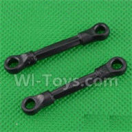 SuBotech BG1508 Parts-S15060602 Front Pull Rod(2pcs),Subotech BG1508 RC Car Spare parts Accessories,1:12 4WD BG1508 RC Racing Car parts,High Speed Drifting Buggy Parts