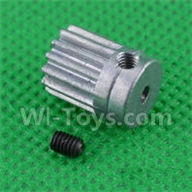 SuBotech BG1508 Parts-H15061304 Small Motor Gear,Subotech BG1508 RC Car Spare parts Accessories,1:12 4WD BG1508 RC Racing Car parts,High Speed Drifting Buggy Parts