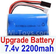 SuBotech BG1518 Car Parts-Upgrade 7.4V 2200mah 15C Battery(1pcs),Subotech BG1518 RC Car Spare parts Accessories,1:12 4WD BG1518 RC Racing Car parts,High Speed Drifting Buggy Parts
