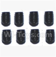 SuBotech BG1508 Parts-WLS017 Hexagon Socket Screws(8pcs)-3X4,Subotech BG1508 RC Car Spare parts Accessories,1:12 4WD BG1508 RC Racing Car parts,High Speed Drifting Buggy Parts